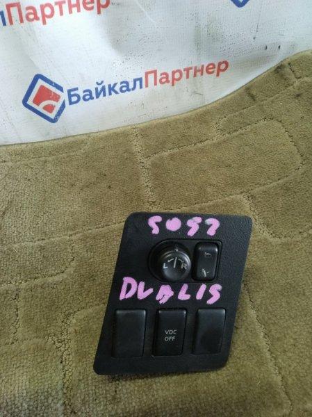 Блок управления зеркалами Nissan Qashqai J10 5052
