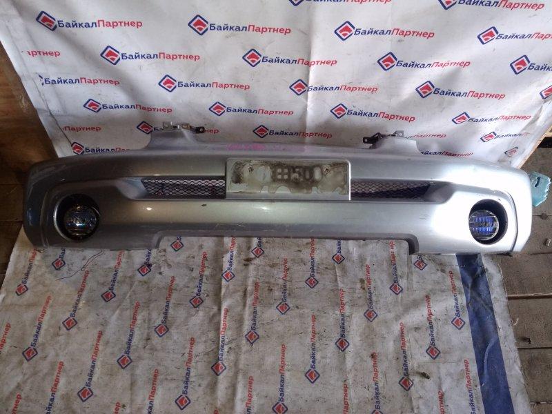 Бампер Mitsubishi Pajero Io H77W 2004 передний
