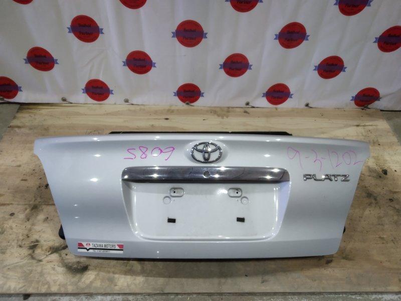 Крышка багажника Toyota Platz NCP16 2NZ-FE 2002 6085