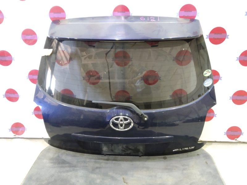 Дверь 5-я Toyota Auris ZRE152H 2ZR-FE 2008 6121