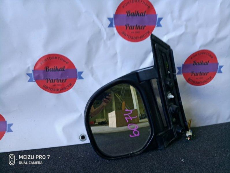 Зеркало Mitsubishi Delica PD6W 6G72 2005 левое 6074
