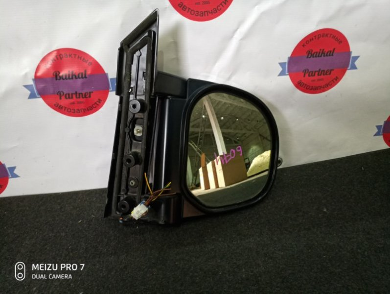 Зеркало Mitsubishi Delica PD6W 6G72 2005 правое 6074