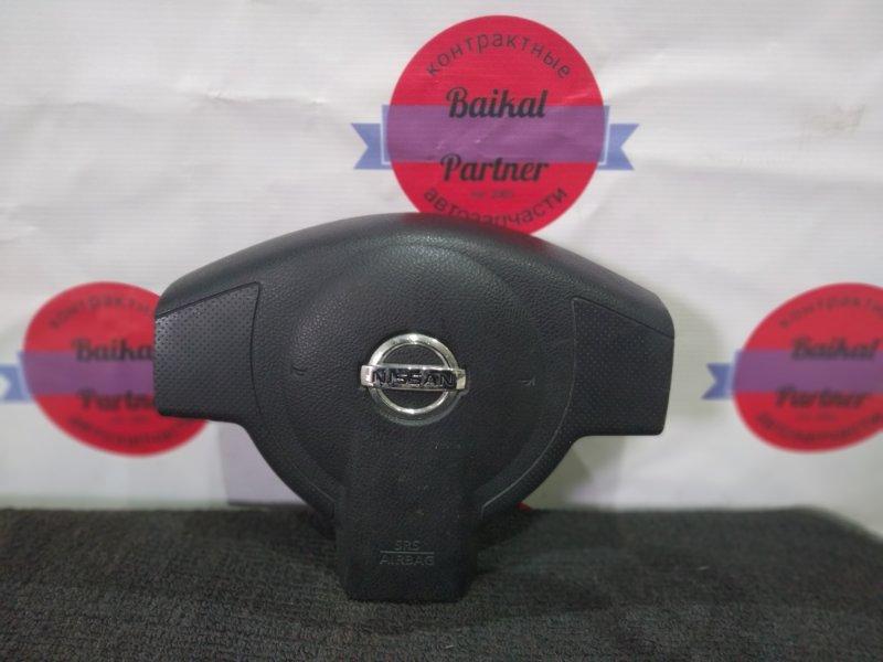 Airbag на руль Nissan Note E11 HR15DE 2006 6060