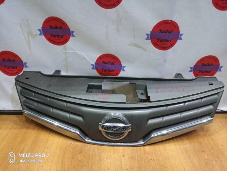 Решетка радиатора Nissan Note E11 HR15DE 2008 6050