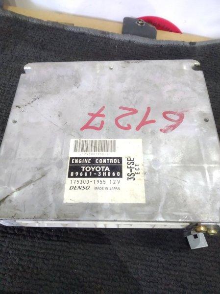 Блок управления двс Toyota Vista Ardeo SV50G 3S-FSE 89661-3H060
