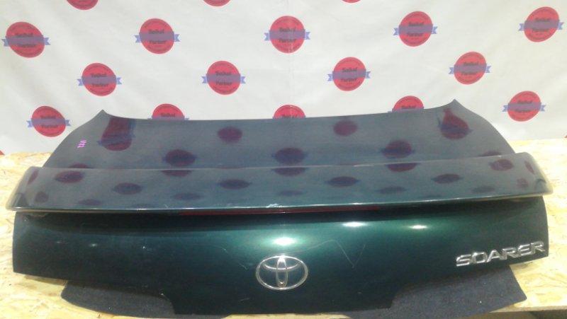 Крышка багажника Toyota Soarer JZZ30 1JZ-GTE 1996 задняя 6182