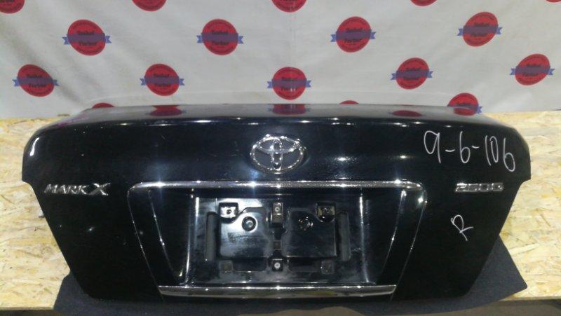 Крышка багажника Toyota Mark X GRX120 4GR-FSE 2006 задняя