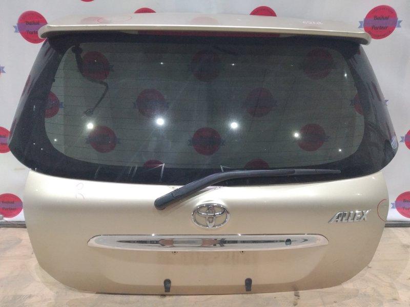 Дверь 5-я Toyota Allex NZE124 1NZ-FE 2003
