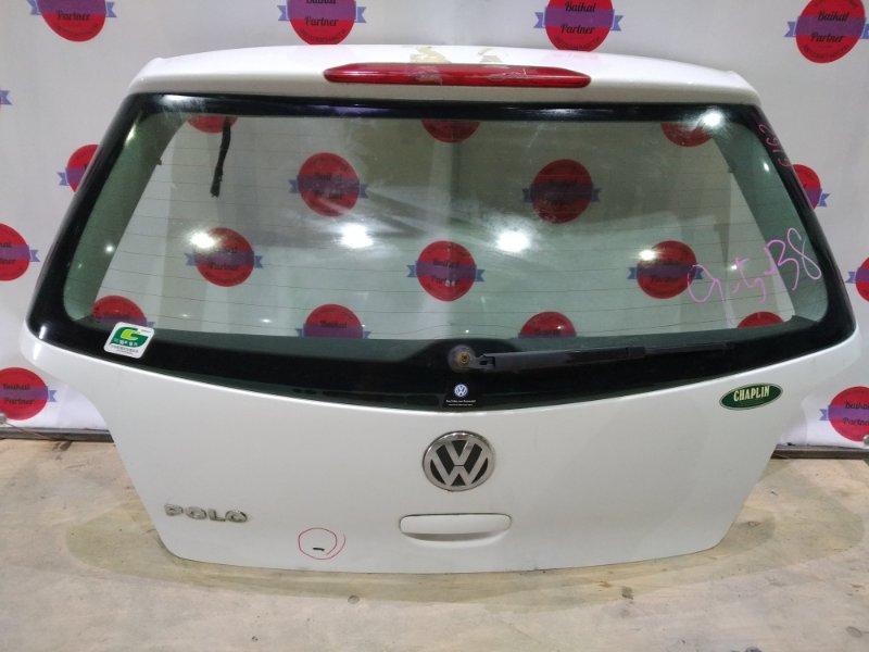 Дверь 5-я Volkswagen Polo 9N3 2007 задняя 6162