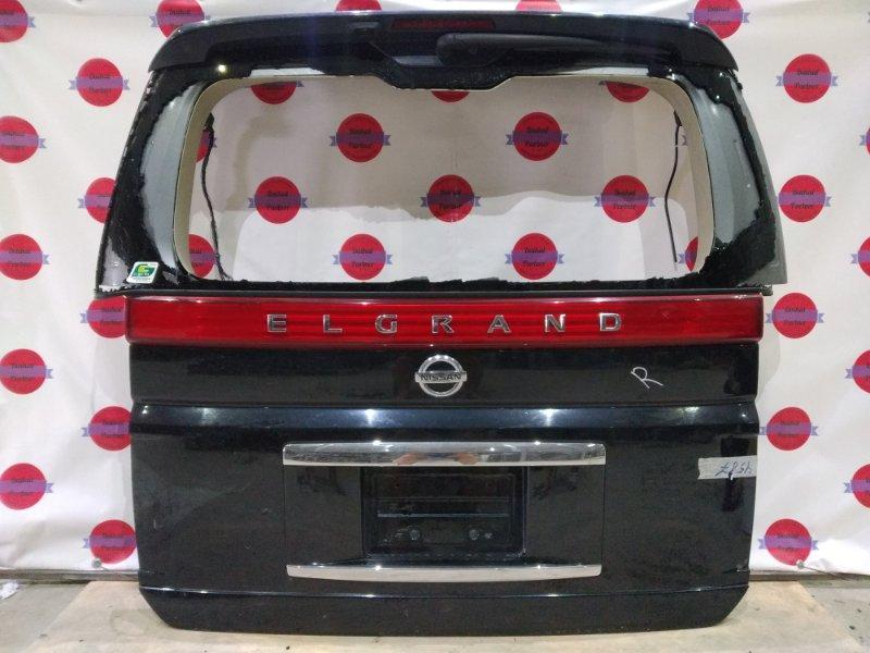Дверь 5-я Nissan Elgrand NE51 VQ35DE 2006 6261