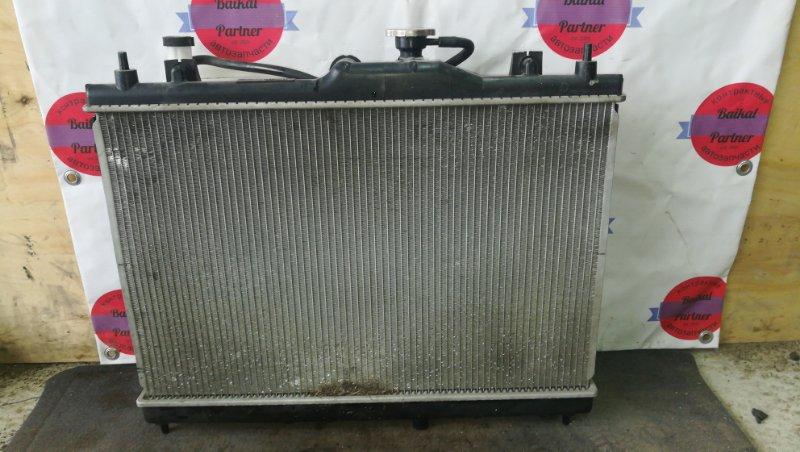 Радиатор двс Nissan Tiida C11 HR15DE 2010