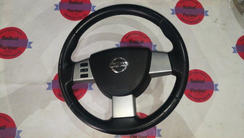 Airbag на руль Nissan Murano TZ50 QR25DE 2004 6254