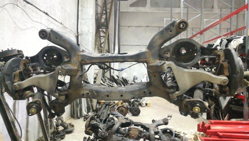 Балка подвески Nissan Murano TZ50 QR25DE задняя 6254