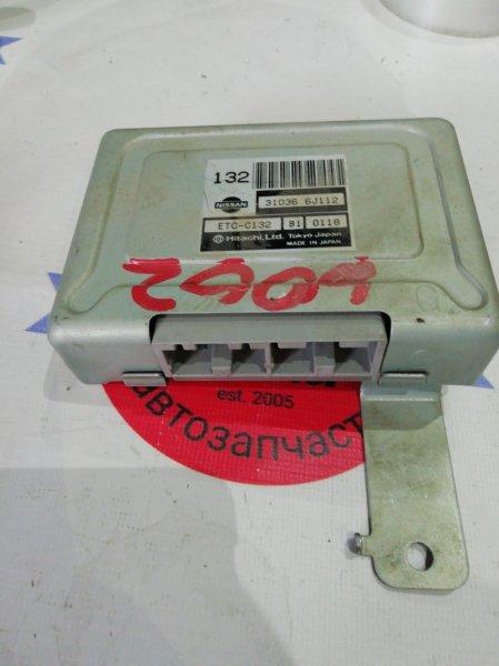 Блок управления автоматом Nissan Avenir PW11 SR20DE 2001 6002