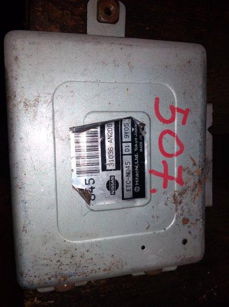 Блок управления автоматом Nissan CGA3DE 31036-AN200