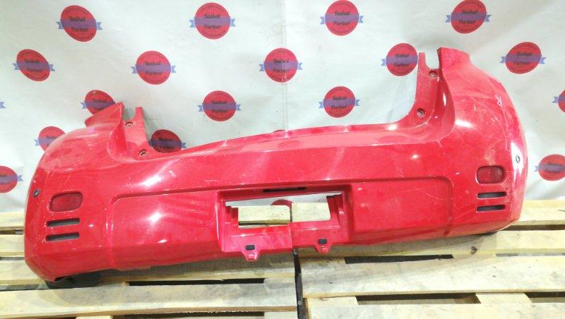 Бампер Toyota Will Cypha NCP75 1NZ-FE задний 6215