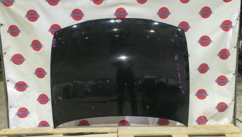 Капот Nissan Pulsar FN15 GA15DE 1998 6309