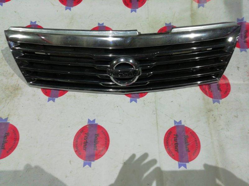 Решетка радиатора Nissan Liberty RM12 QR20DE 2002 передняя 6327