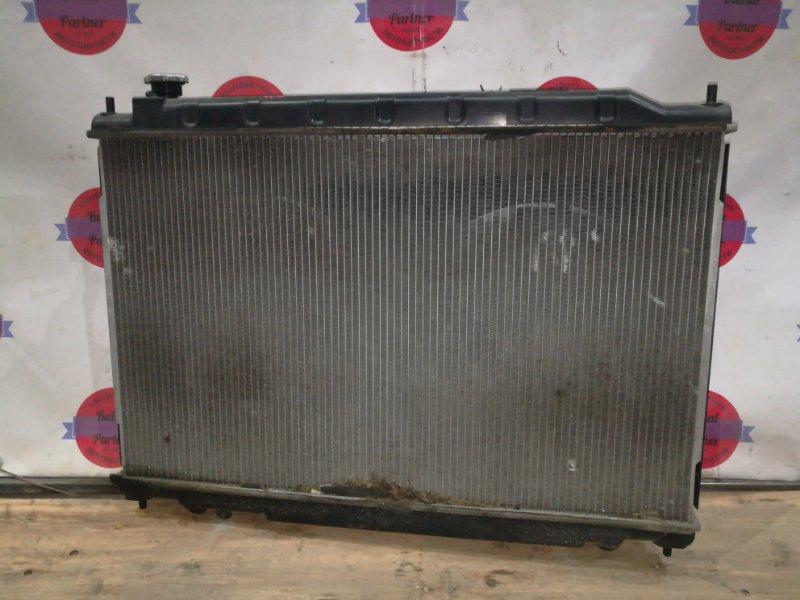 Радиатор двс Nissan Murano TZ50 QR25DE 2004 6254