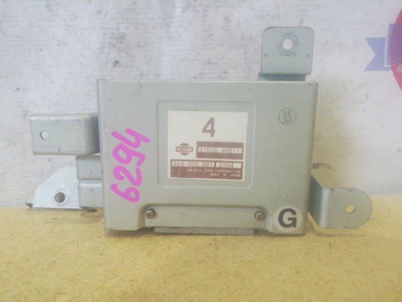 Блок управления автоматом Nissan Sunny FNB15 QG15DE A64-000 B81