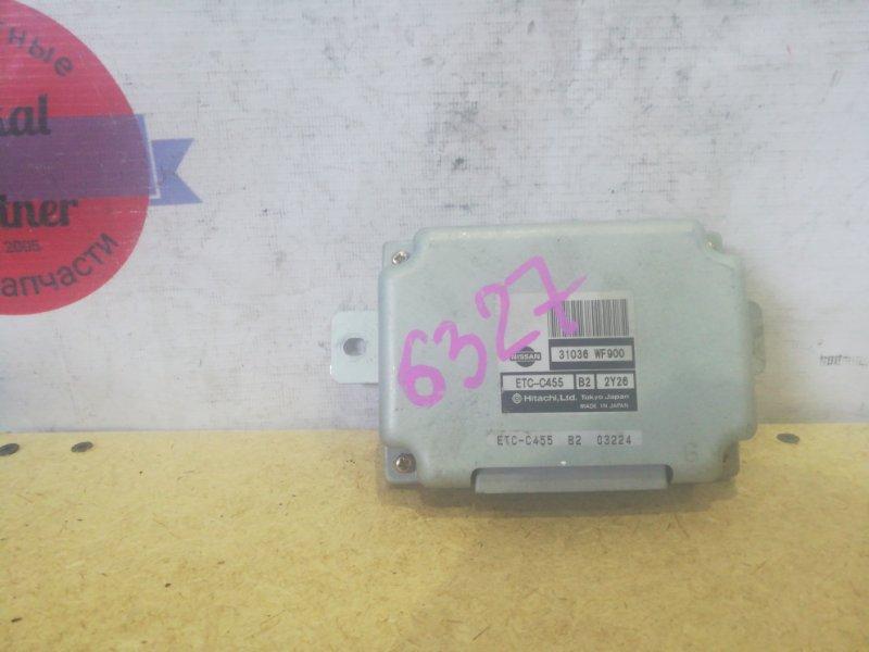 Блок управления автоматом Nissan Liberty RM12 QR20DE ETC-C455B2