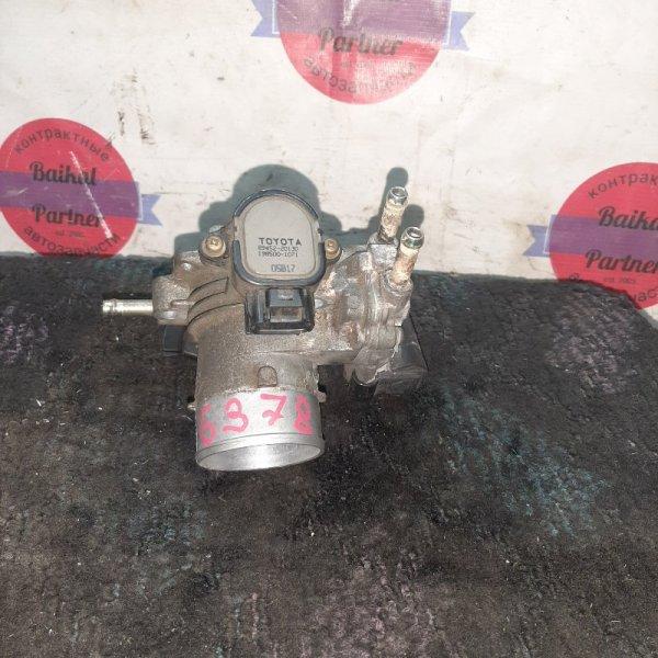 Заслонка дроссельная Toyota Platz NCP16 2NZ-FE 6378
