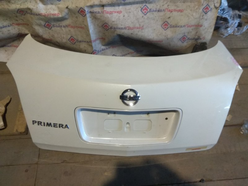 Крышка багажника Nissan Primera TP12 QR20DE 2004 задняя