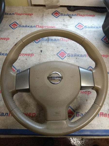 Airbag на руль Nissan Tiida C11 HR15DE 2005 6491