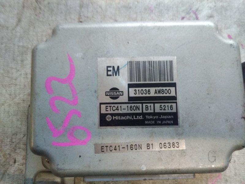 Блок управления автоматом Nissan Primera TP12 QR20DE 2004 31036-AW800