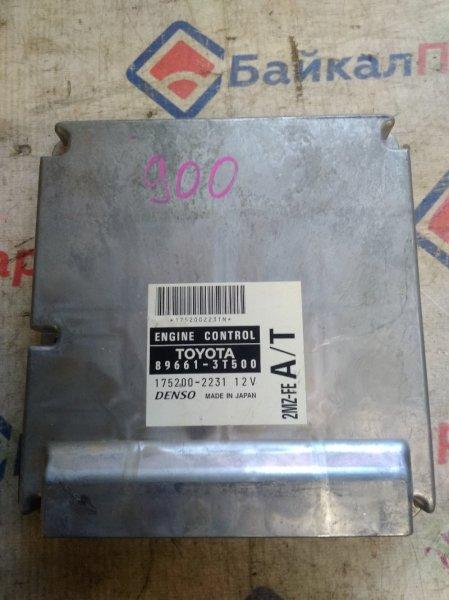 Блок управления двс Toyota Mark Ii Wagon Qualis MCV25W 2MZ-FE 2000 89661-3T500