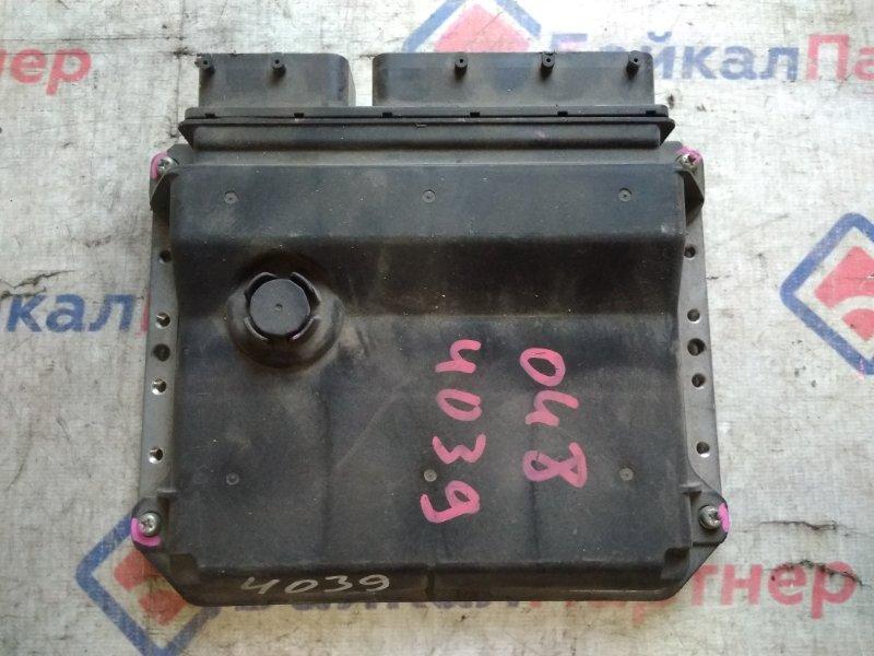 Блок управления двс Toyota Belta KSP92 1KR-FE 2005 89661-52C71