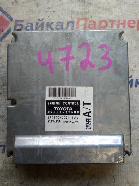 Блок управления двс Toyota Mark Ii Wagon Qualis MCV25W 2MZ-FE 89661-3T500