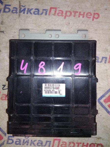 Блок efi Mitsubishi Lancer Cedia CS5W 4G15 MR578486