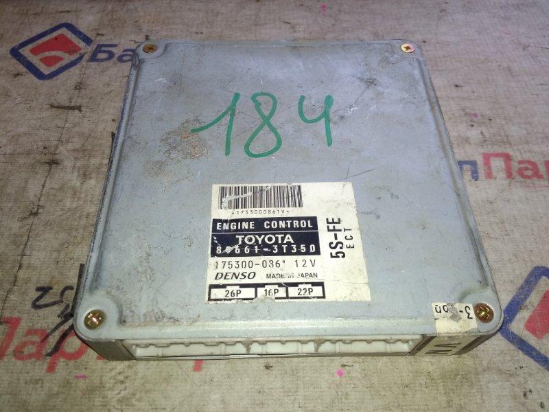 Блок управления двс Toyota Camry Gracia SXV25 5S-FE 89661-3T350