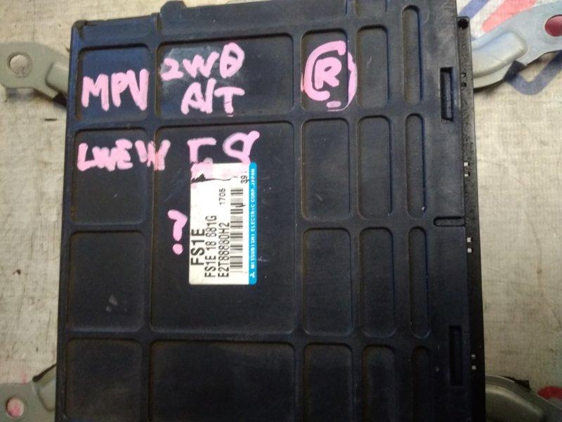 Блок efi Mazda Mpv LVEW FS1E18881G