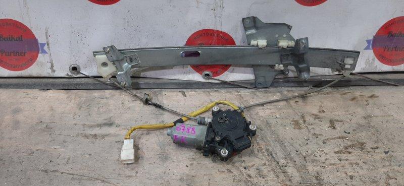 Стеклоподъемный механизм Toyota Cresta GX105 1998 передний правый 6788