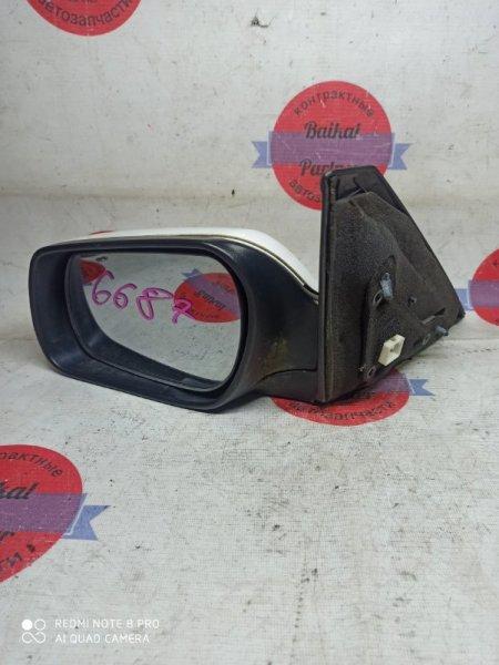 Зеркало Mazda Axela BK5P 2007 левое 6687