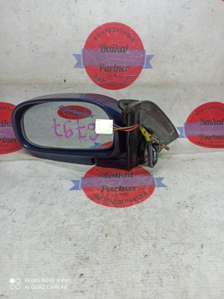 Зеркало Toyota Corolla AE114 1997 левое 6797