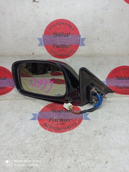 Зеркало Toyota Windom MCV21 2MZ-FE 2001 левое 6660