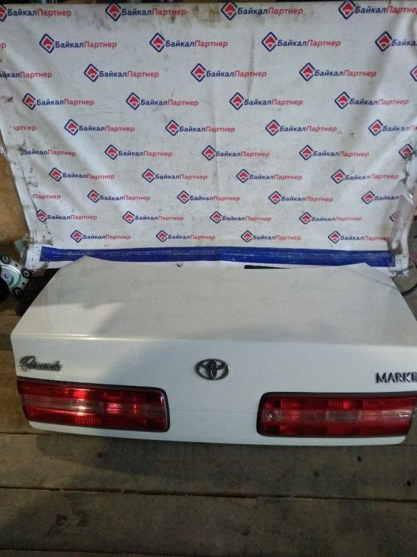 Крышка багажника Toyota Mark Ii GX100 задняя