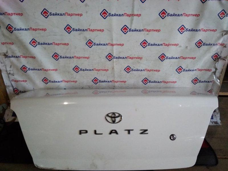Крышка багажника Toyota Platz NCP16 2000 задняя