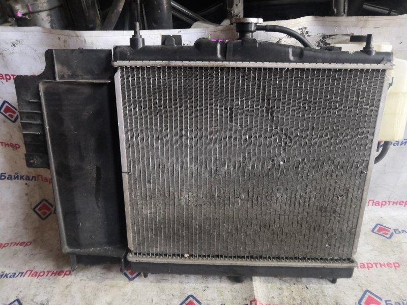 Радиатор двс Nissan Note E11 HR15DE