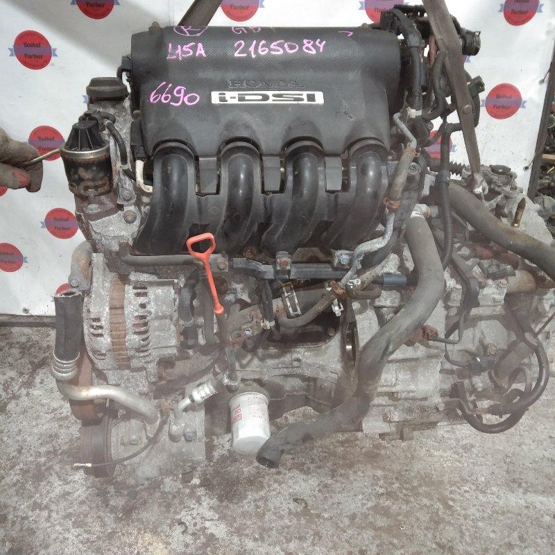 Двигатель Honda Mobilio GB1 L15A 6690