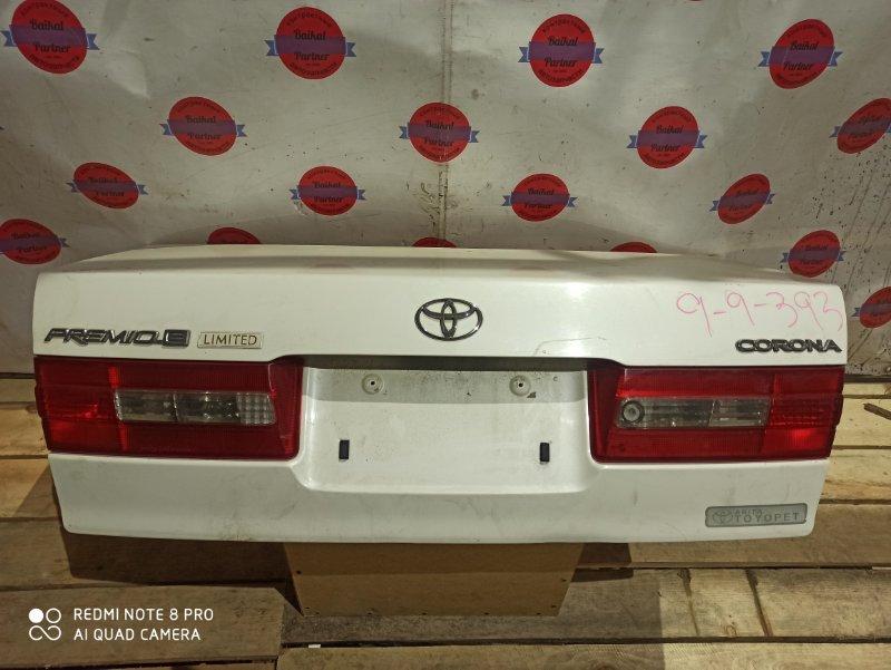 Крышка багажника Toyota Corona Premio AT211 7A-FE 2001 задняя