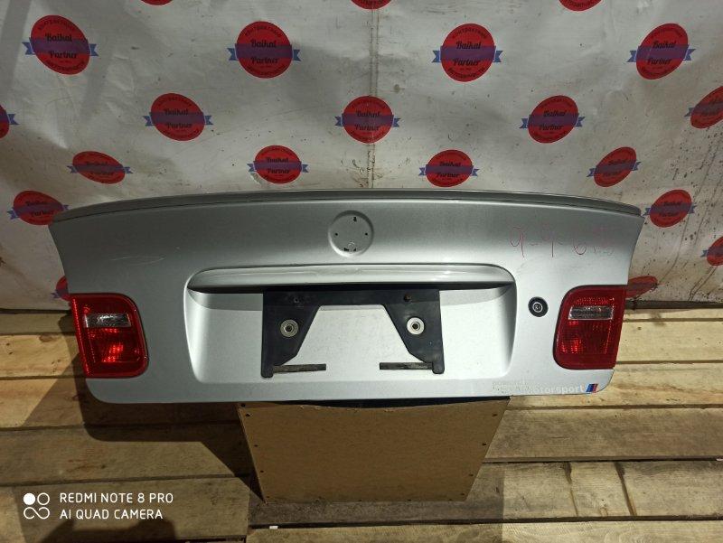 Крышка багажника Bmw 3-Series E46 1998 задняя 6624