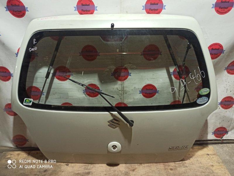 Дверь 5-я Suzuki Wagon R Solio MA34S 2008