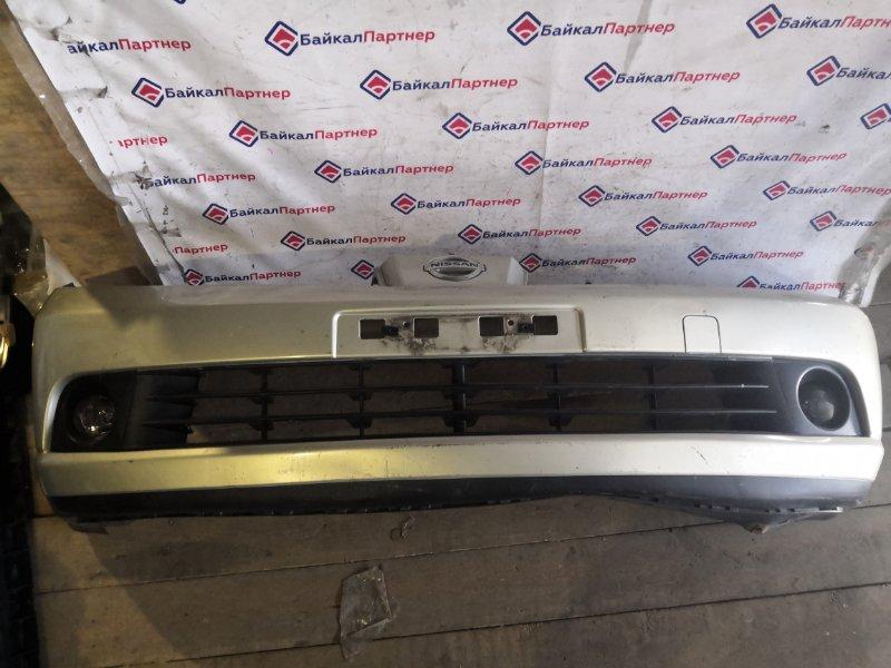 Бампер Nissan Tiida NC11 2005 передний