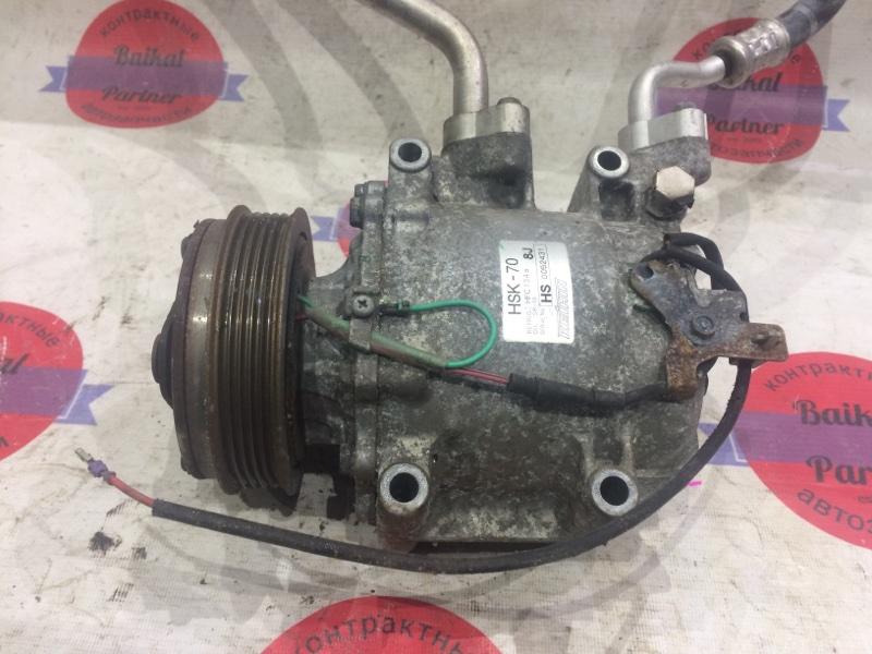 Компрессор кондиционера Honda Fit GE6 L13A 6688