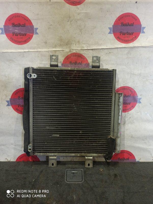 Радиатор кондиционера Toyota Passo KGC10 1KR-FE 6643