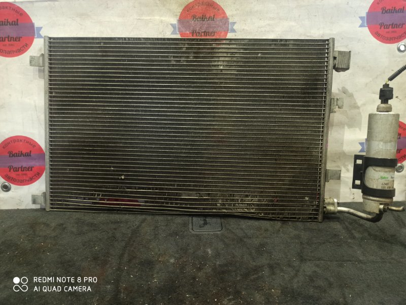 Радиатор кондиционера Nissan Qashqai J10 6798